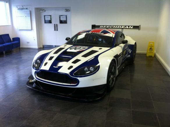 Aston Martin Vantage V12 GT3 new photo
